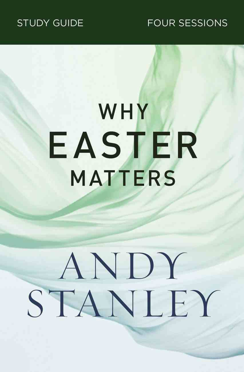 Why Easter Matters (Study Guide) Paperback