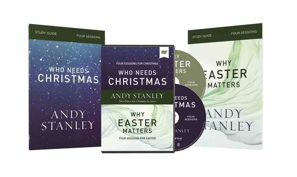 Who Needs Christmas and Why Easter Matters 4 Sessions (Study Guides And Dvd) Pack