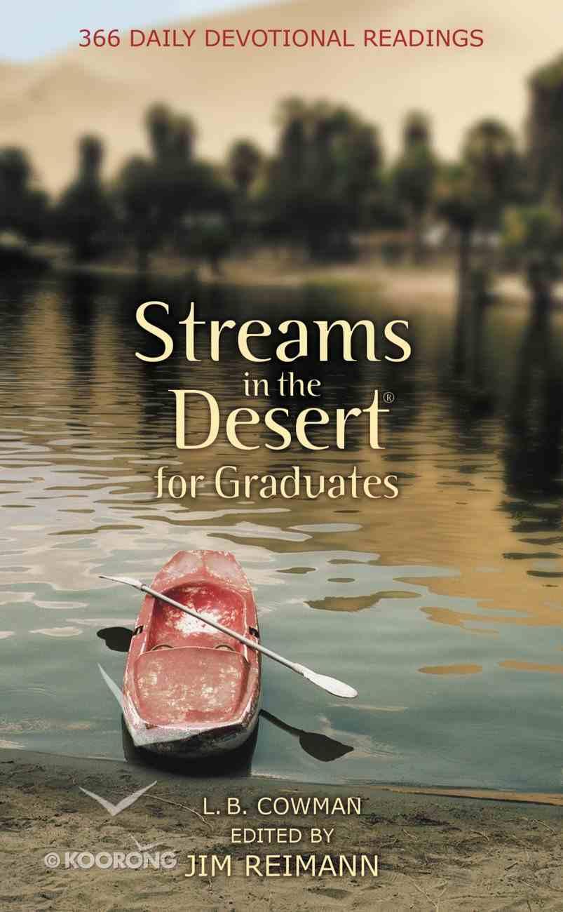 Streams in the Desert For Graduates Mass Market