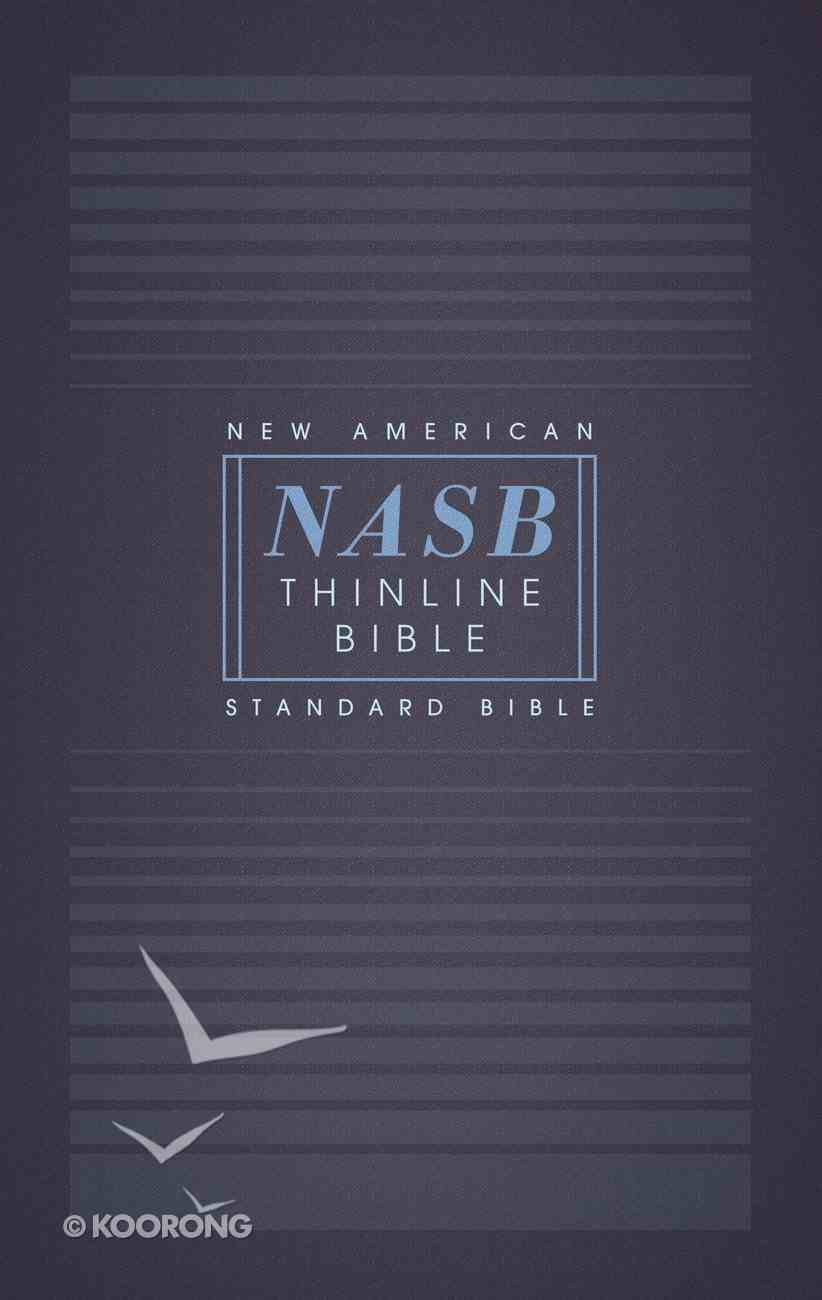 NASB Thinline Bible 1995 Text (Red Letter Edition) Paperback