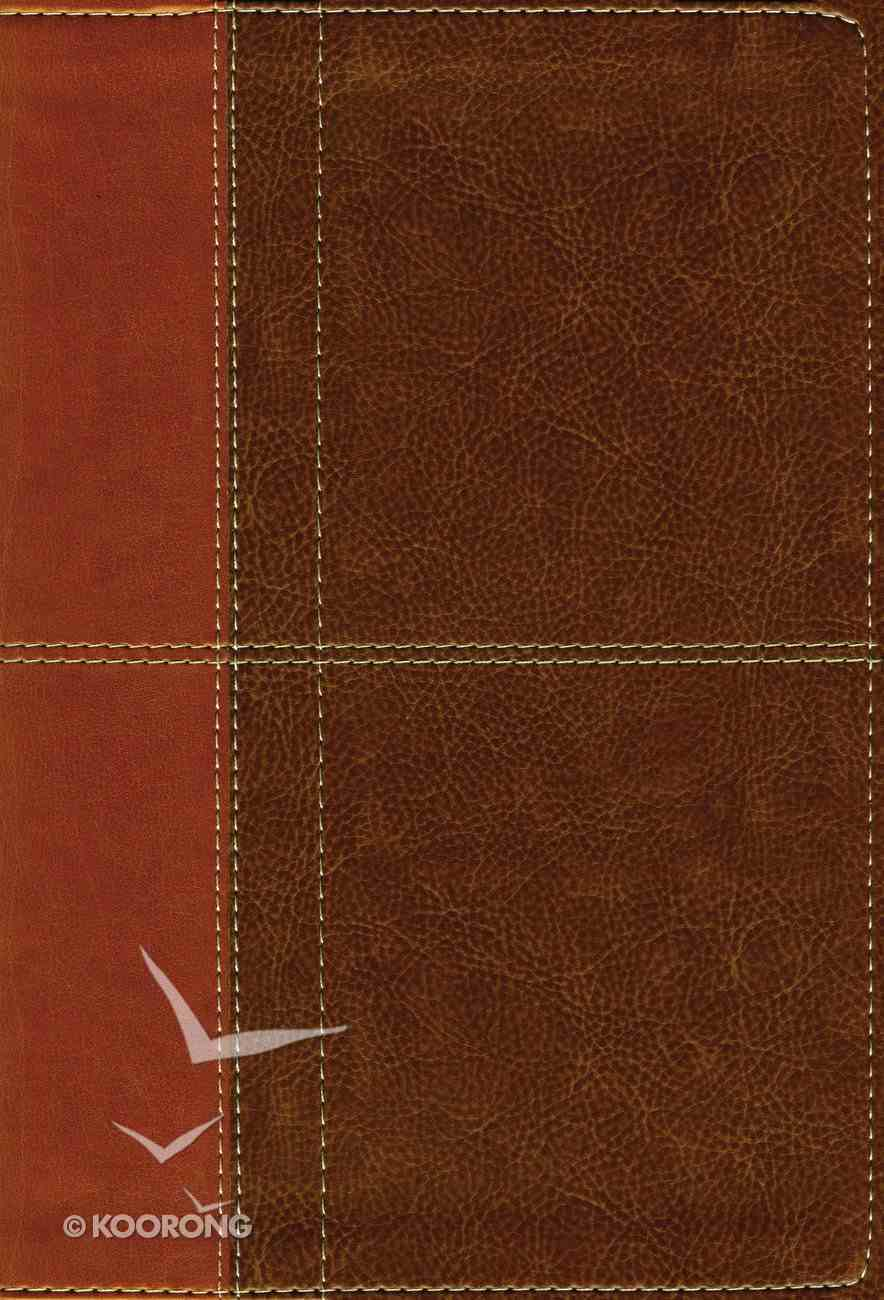 NIV Life Application Study Bible 3rd Edition Brown (Red Letter Edition) Premium Imitation Leather