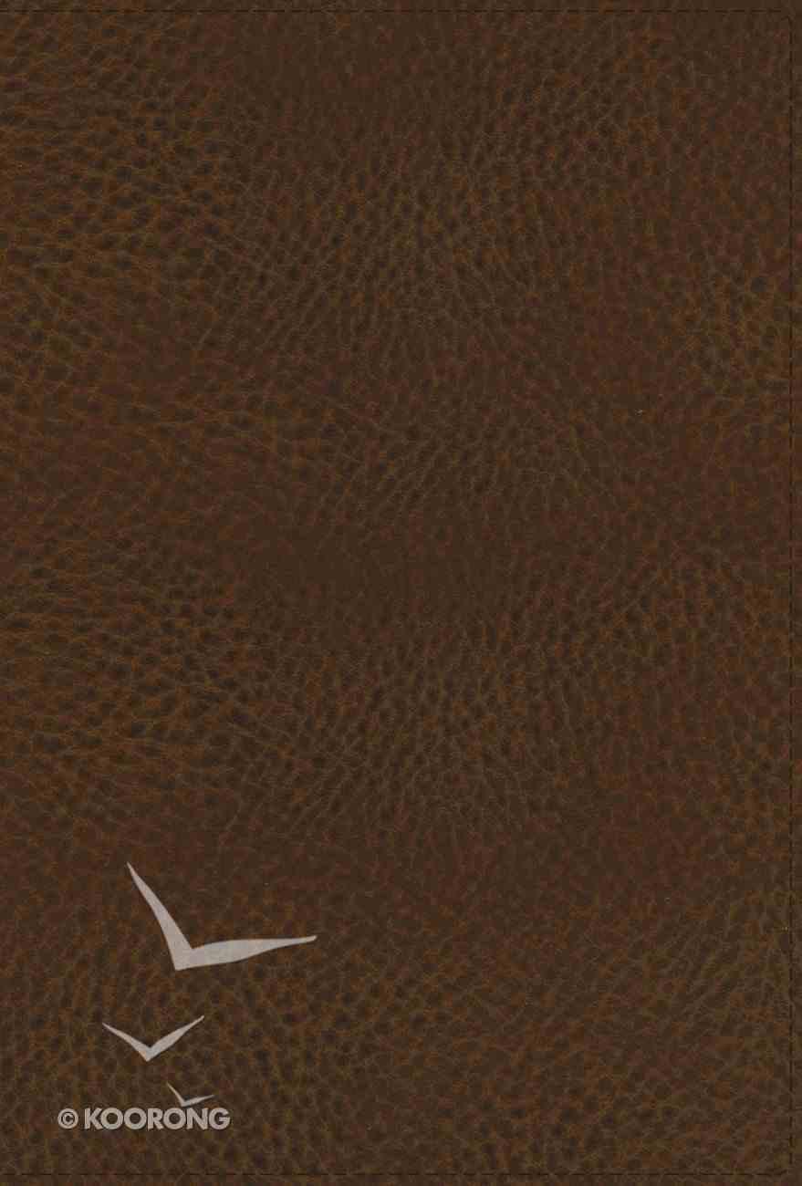 NASB Preacher's Bible Brown 1995 Text Premium Imitation Leather