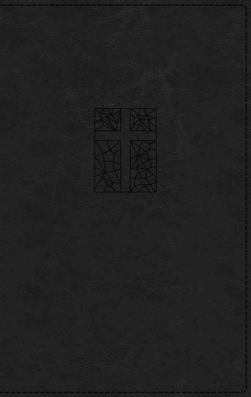 NRSV Thinline Bible Giant Print Black Premium Imitation Leather