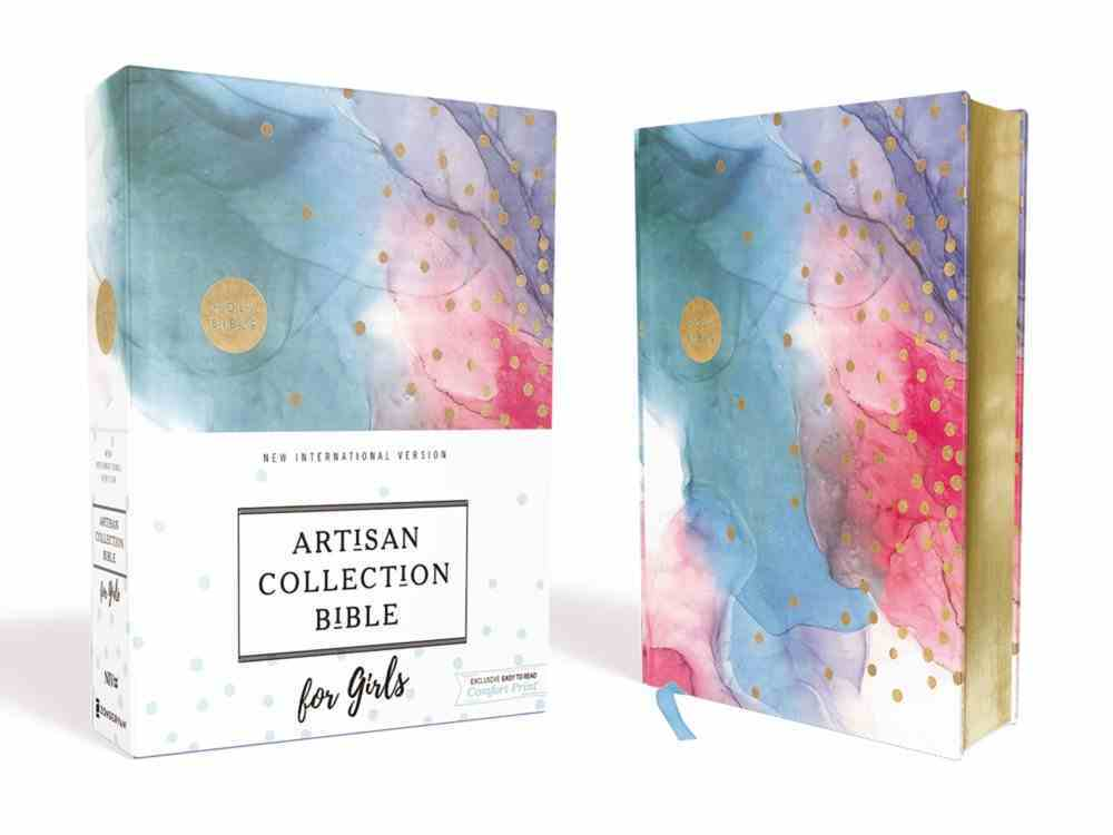 NIV Artisan Collection Bible For Girls Multi-Color (Red Letter Edition) Fabric Over Hardback