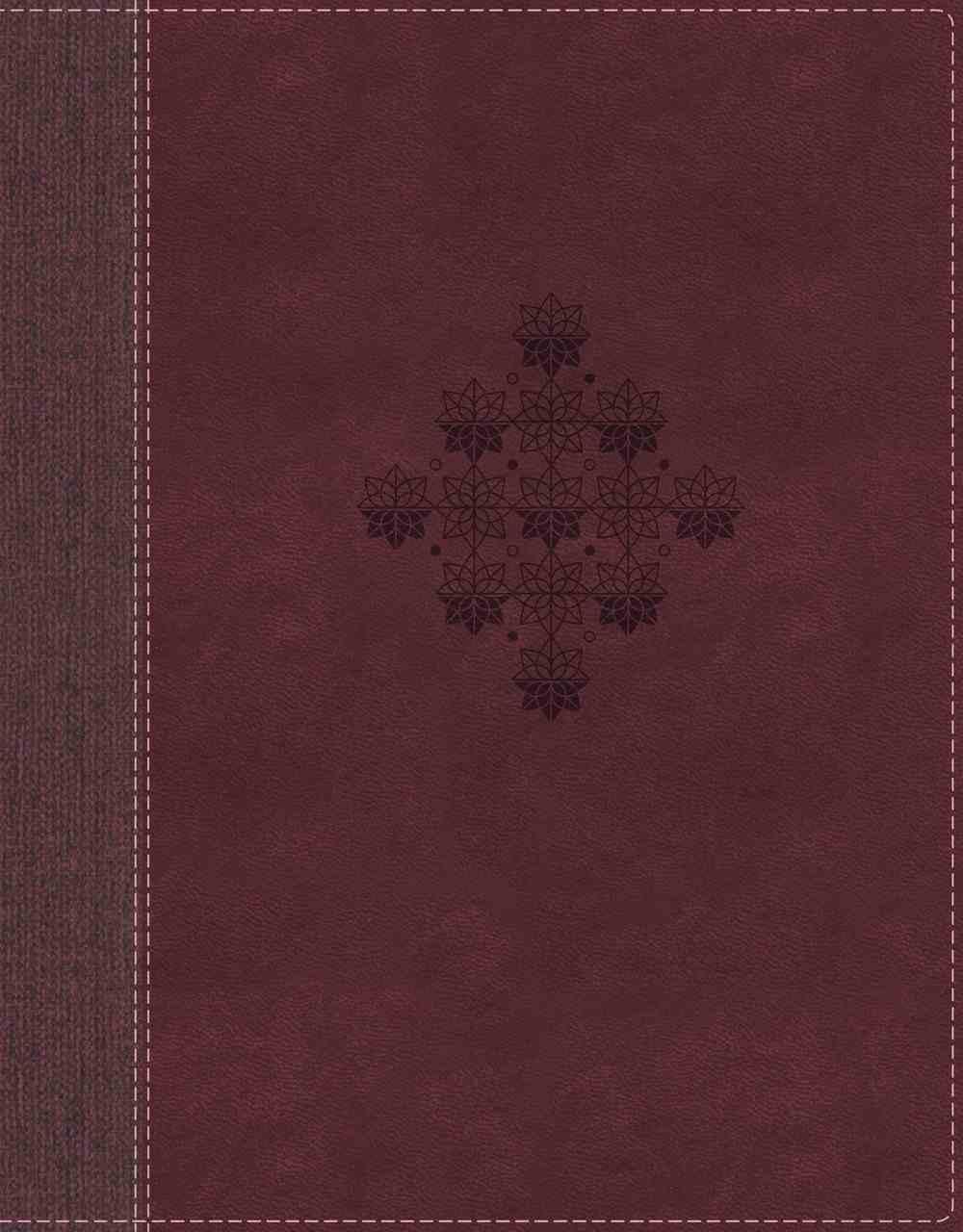 NRSV Journal the Word Bible Burgundy Premium Imitation Leather