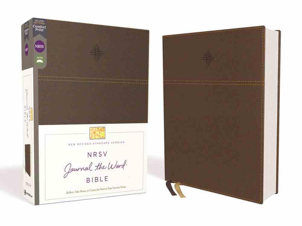 NRSV Journal the Word Bible Brown Premium Imitation Leather
