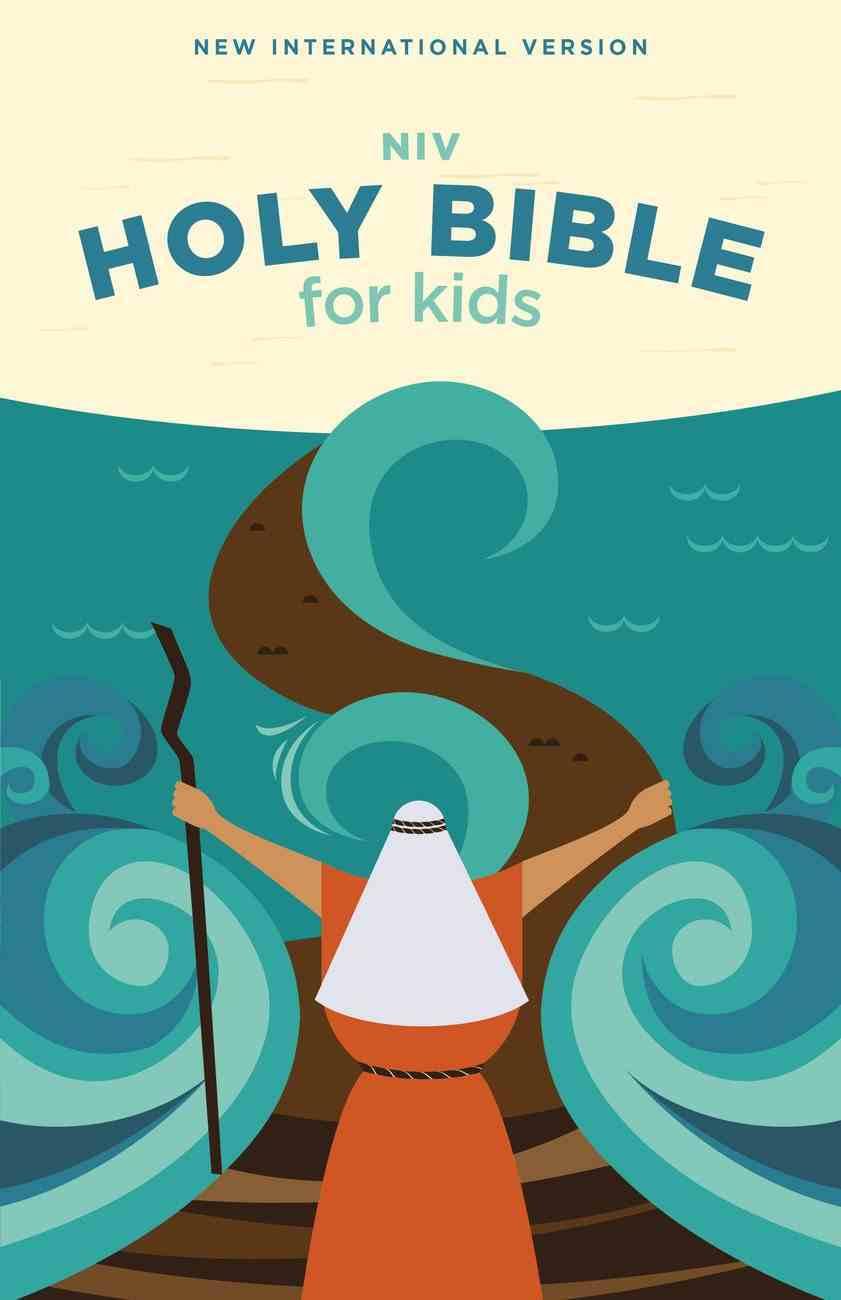 NIV Holy Bible For Kids Economy Edition (Comfort Print) Paperback