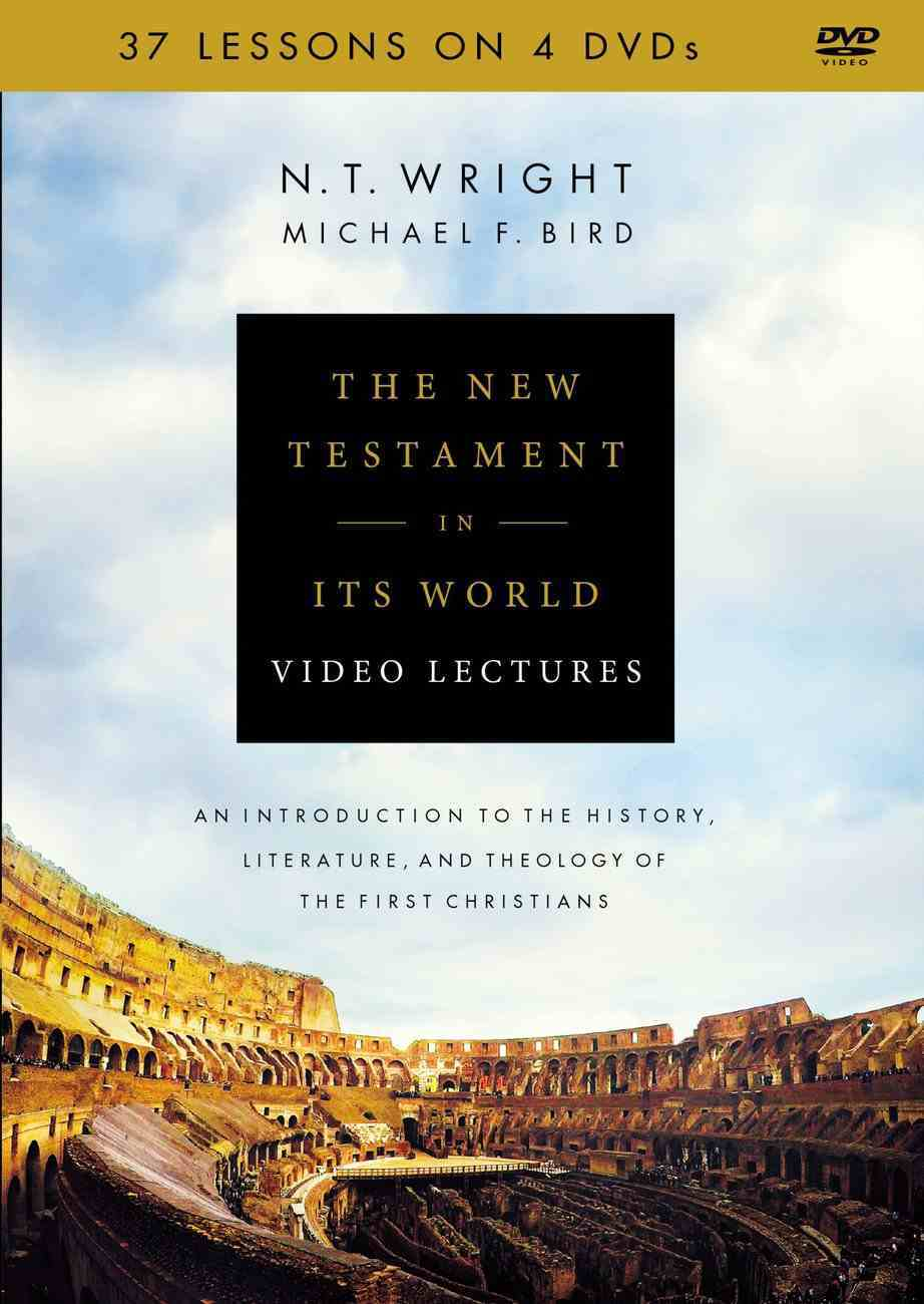 The New Testament in Its World: An Introduction to the History, Literature, and Theology of the First Christians (Video Lectures) DVD