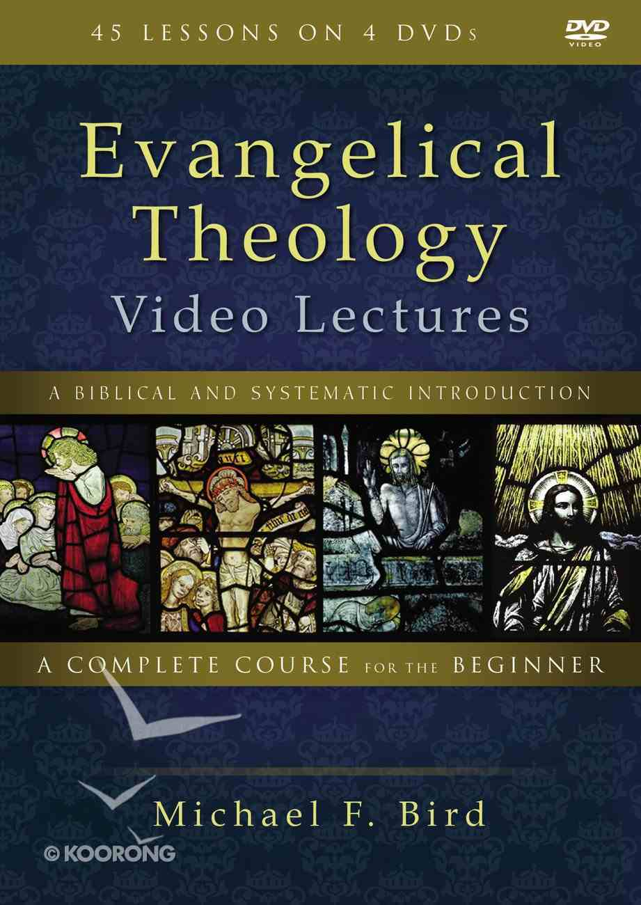 Evangelical Theology: A Biblical and Systematic Introduction (Video Lectures) DVD