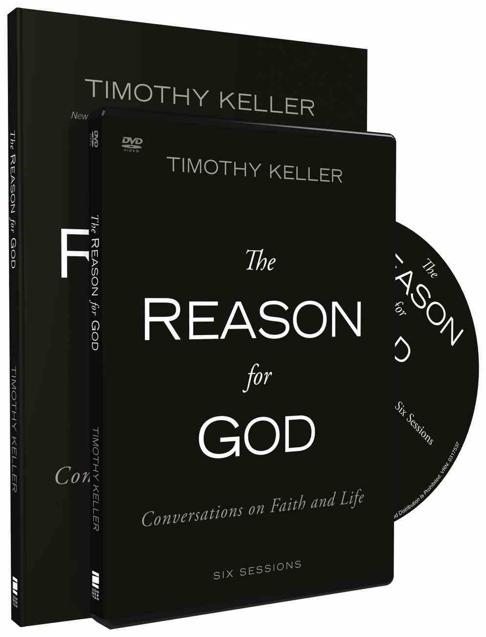 The Reason For God:   Conversations on Faith and Life (Dvd And Participants Guide Pack) Pack