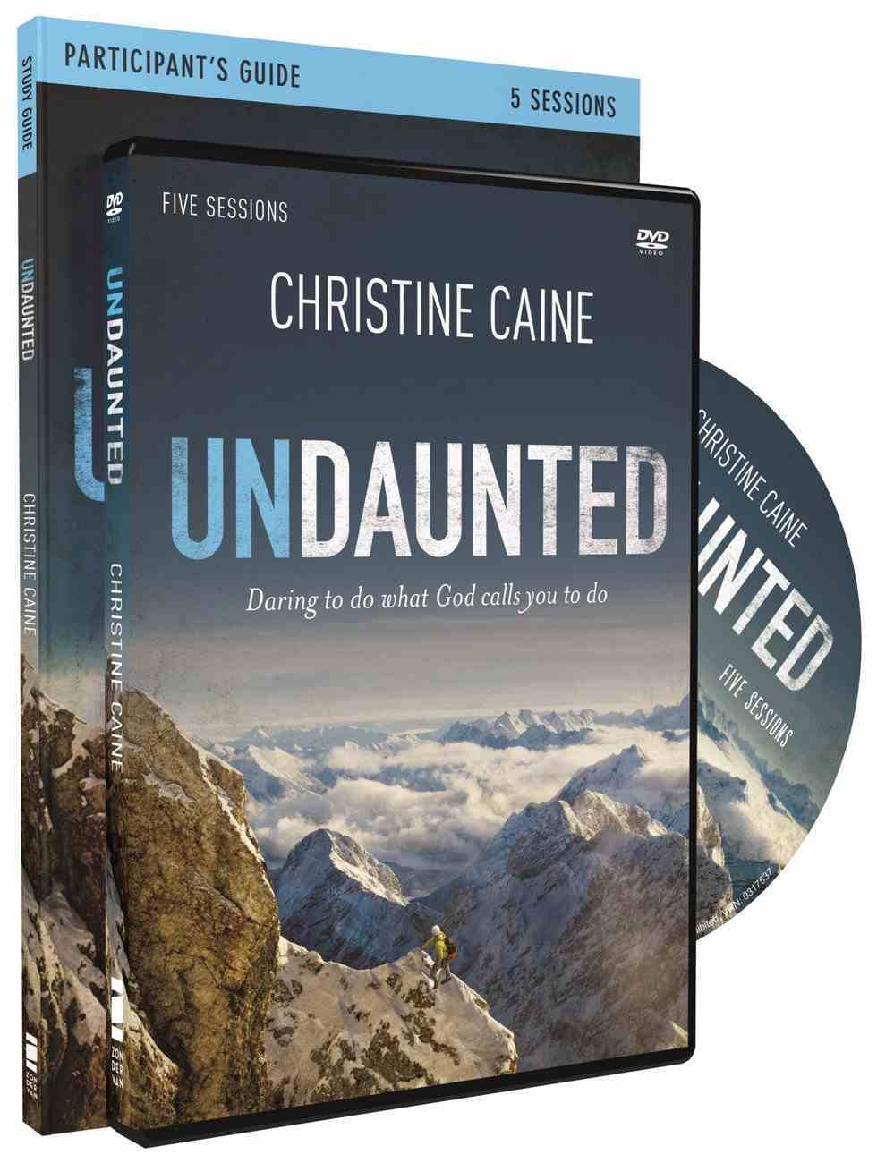 Undaunted (Dvd & Participant's Guide) Pack