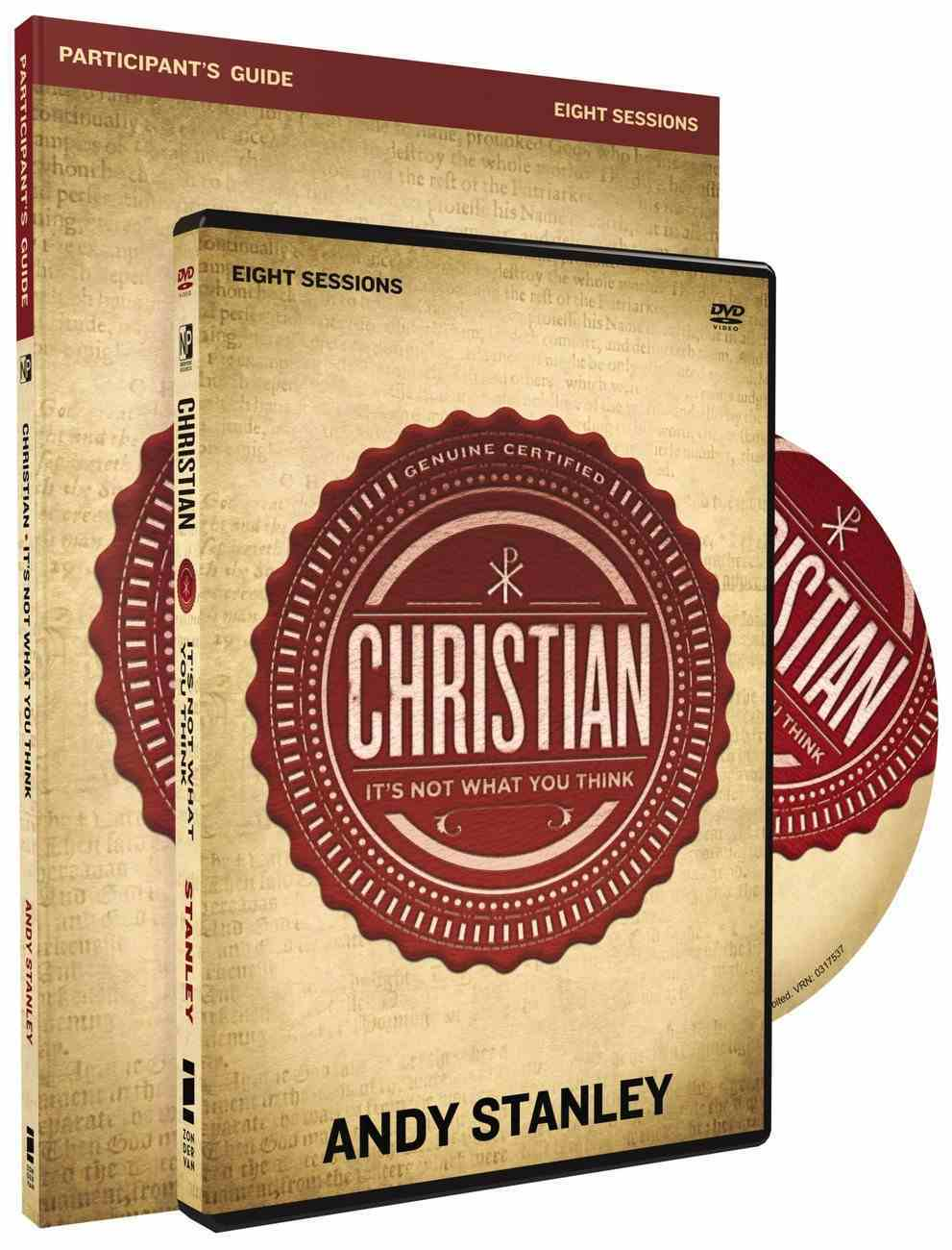 Christian: DVD & Stdy Guide (Pack) Pack