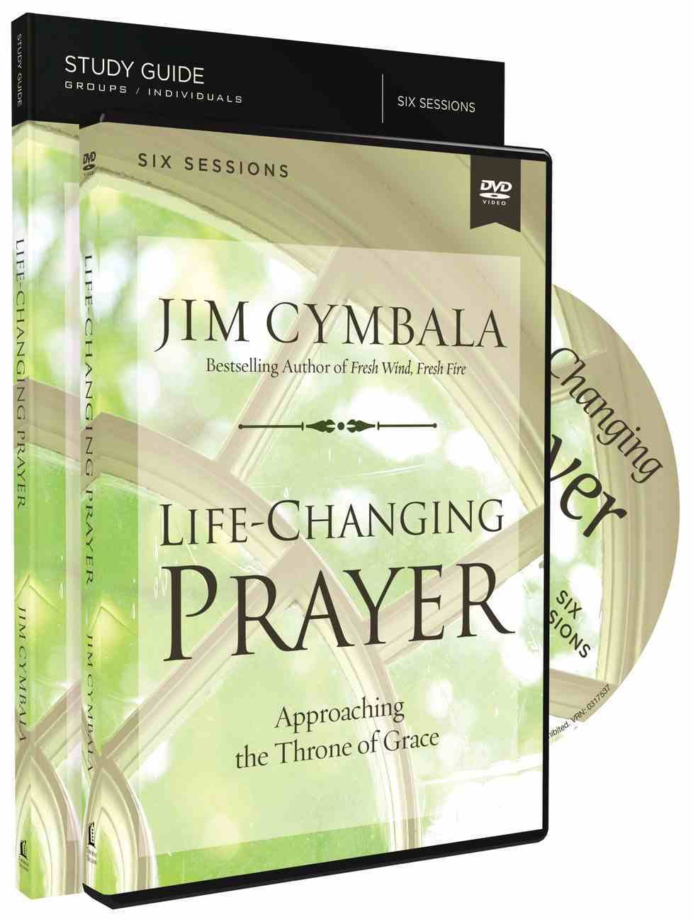 Life-Changing Prayer: Approaching the Throne of Grace (Study Guide With Dvd) Pack