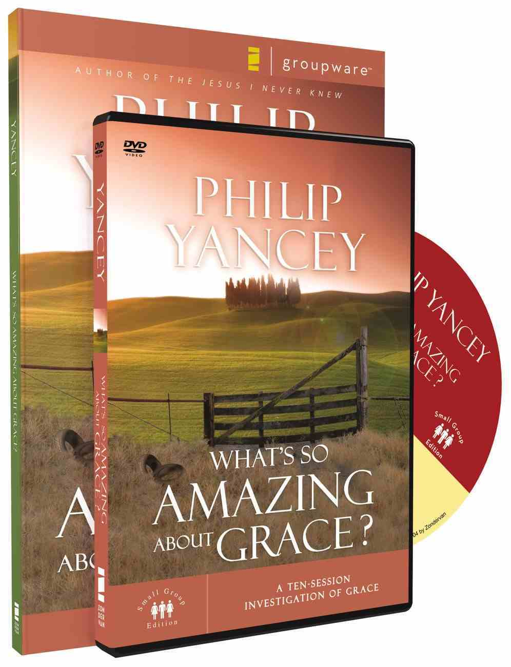 What's So Amazing About Grace? (Participant's Guide With Dvd) Pack