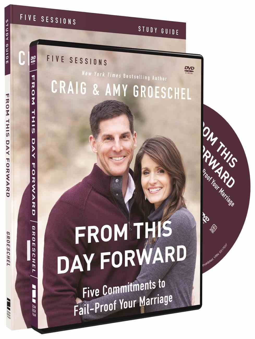From This Day Forward (Study Guide With Dvd) Pack