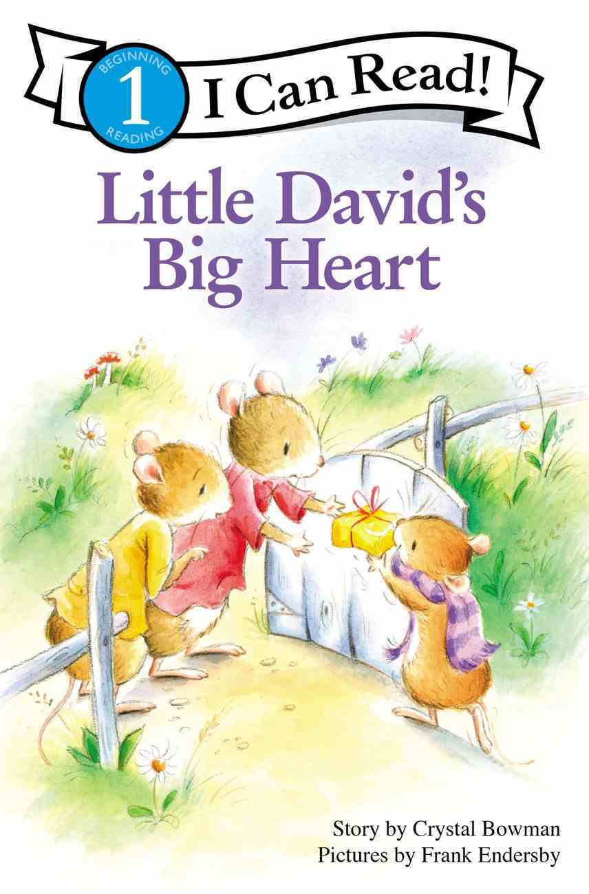 Little David's Big Heart (I Can Read!1/little David Series) Paperback