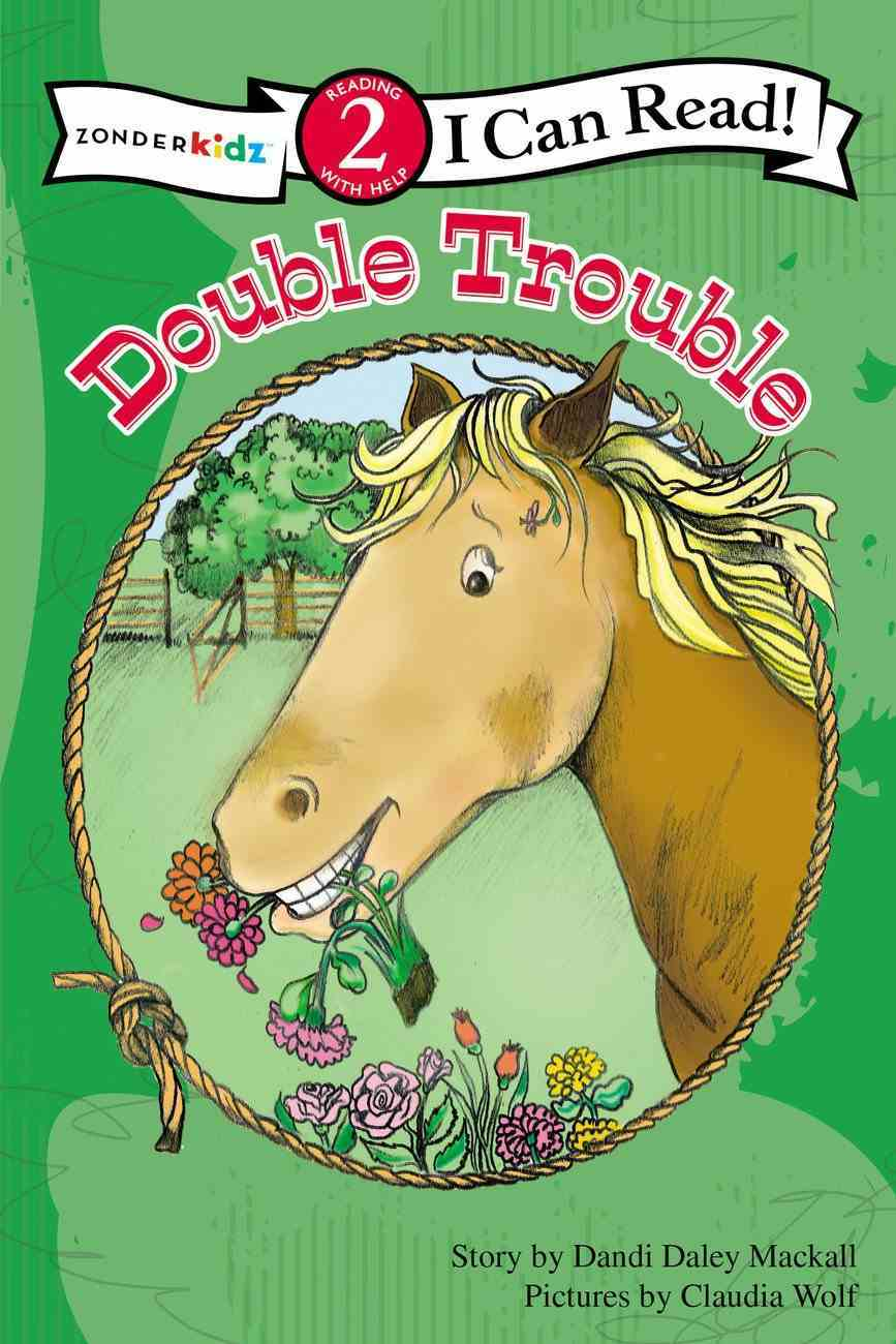Double Trouble (I Can Read!2/horse Named Bob Series) Paperback