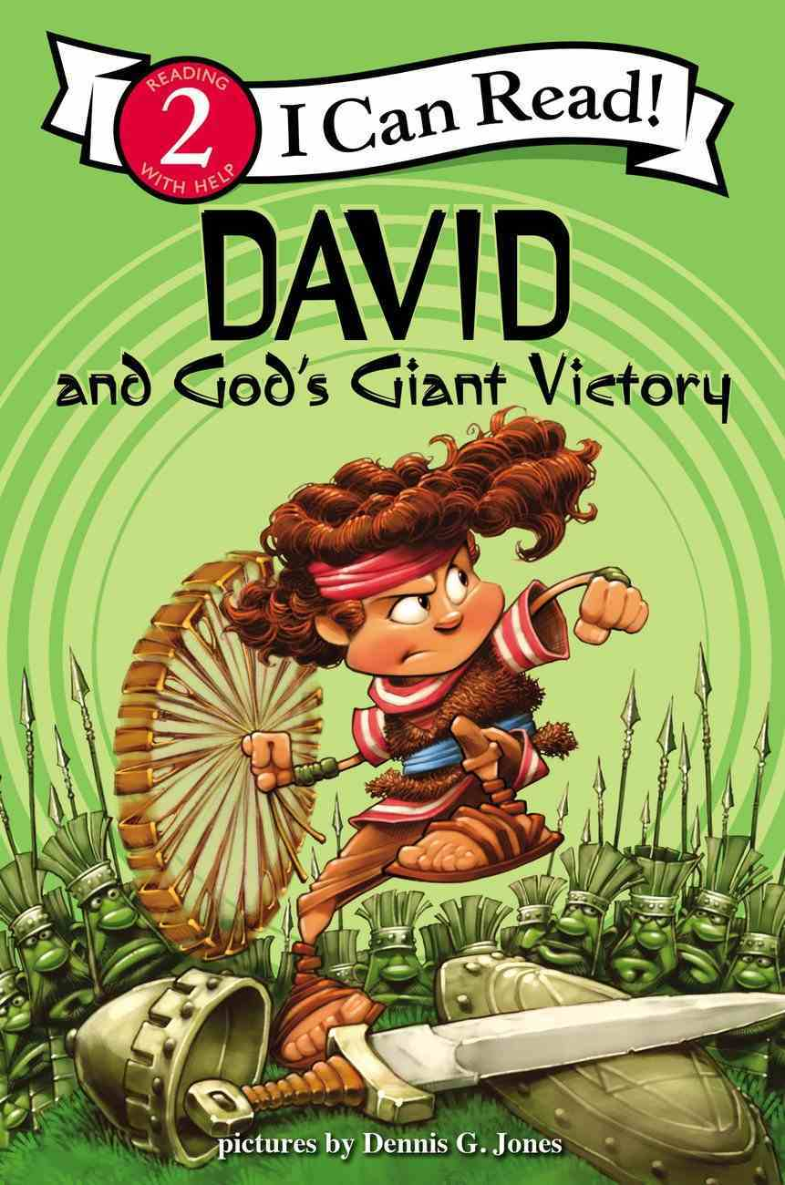 David and God's Giant Victory (I Can Read!2/biblical Values Series) Paperback