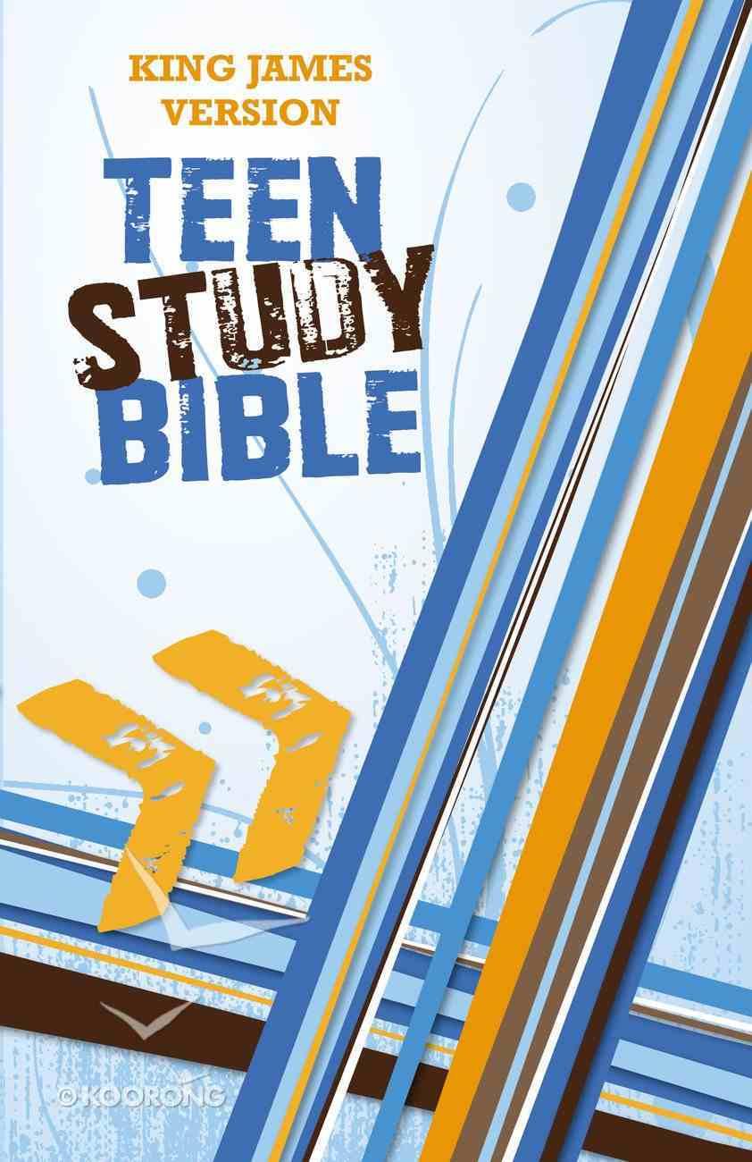 KJV Teen Study Bible (Black Letter Edition) Hardback