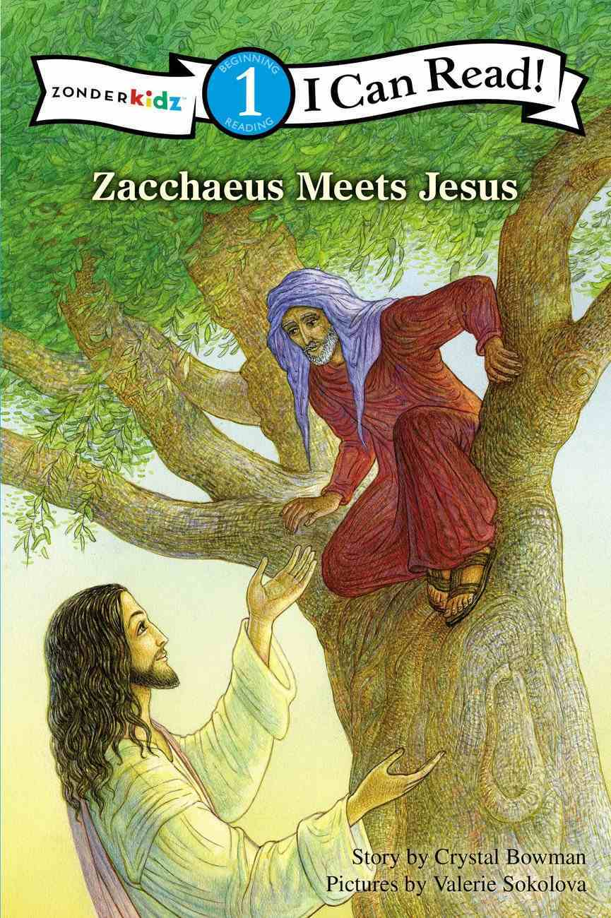 Zacchaeus Meet Jesus (I Can Read!1 Series) Paperback