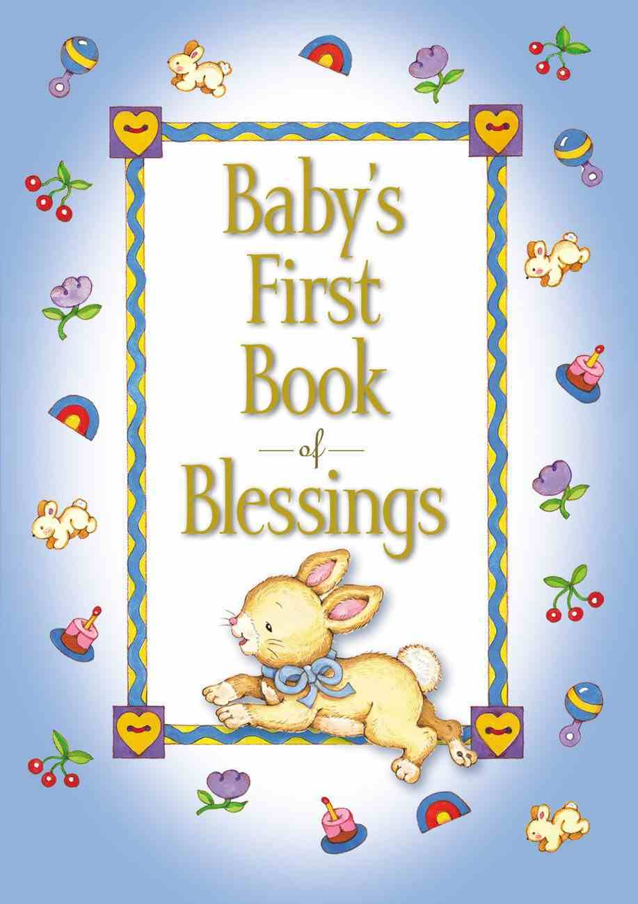 Baby's First Book of Blessings Padded Hardback
