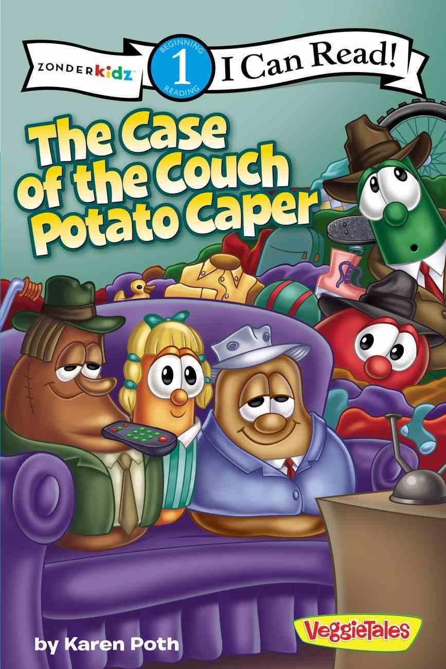The Case of the Couch Potato Caper (I Can Read!1/veggietales Series) Paperback