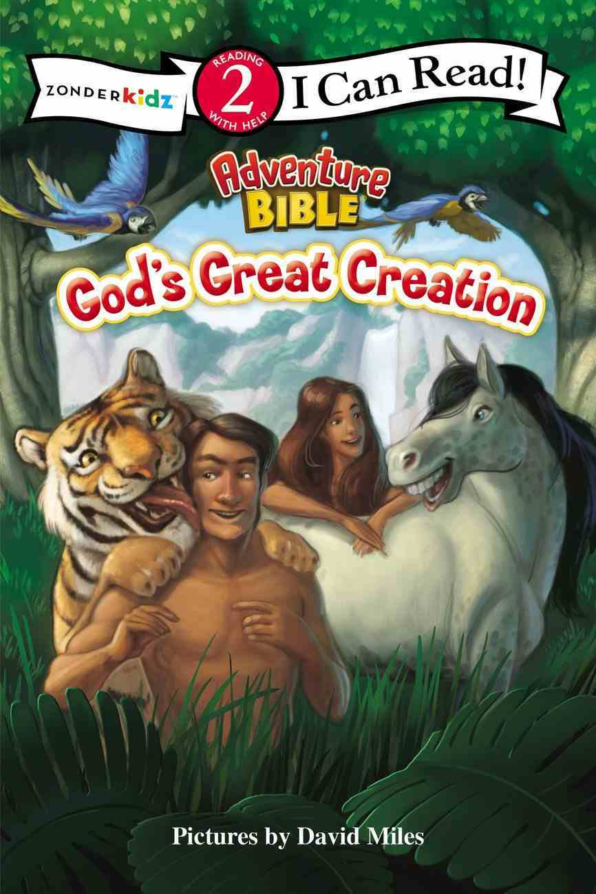 God's Great Creation (I Can Read!2/adventure Bible Series) Paperback