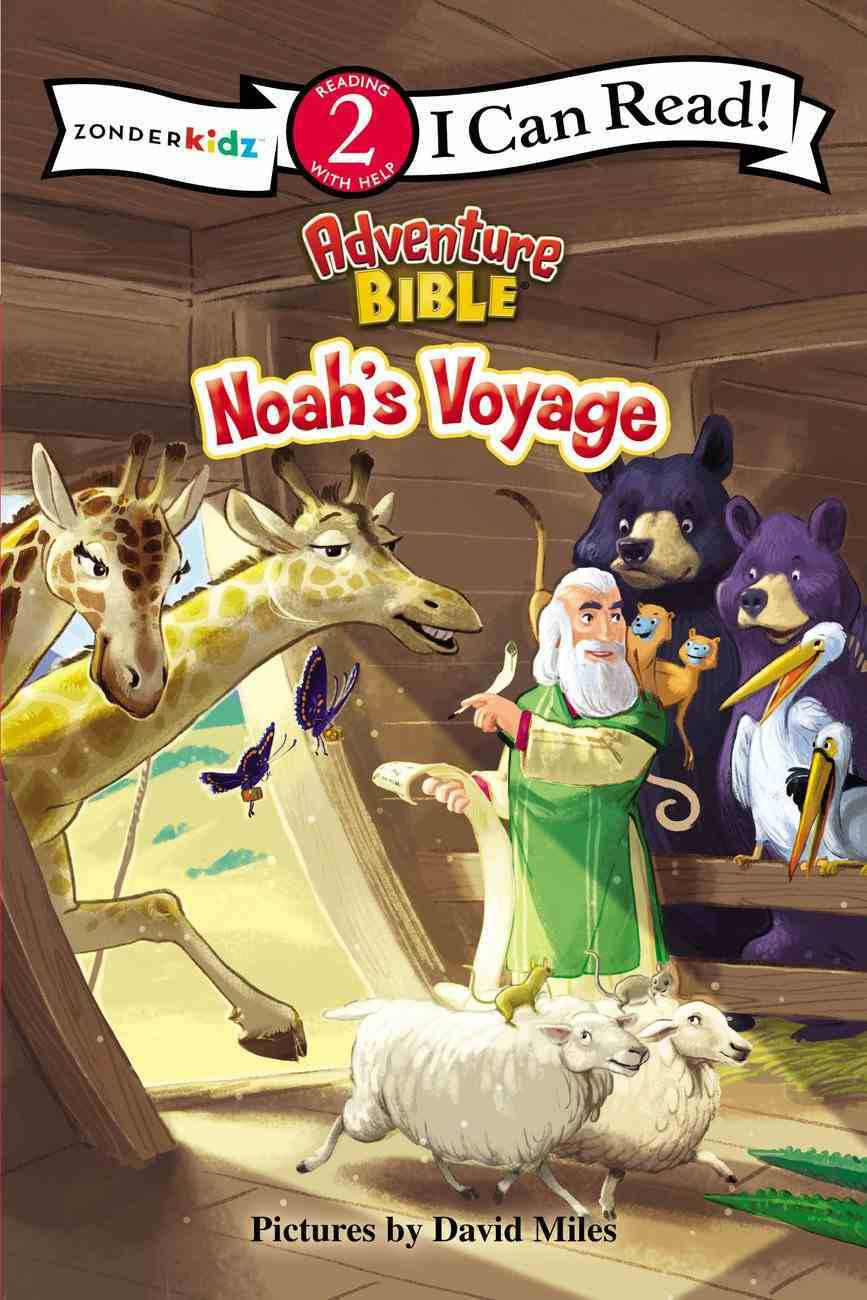 Noah's Voyage (I Can Read!2/adventure Bible Series) Paperback