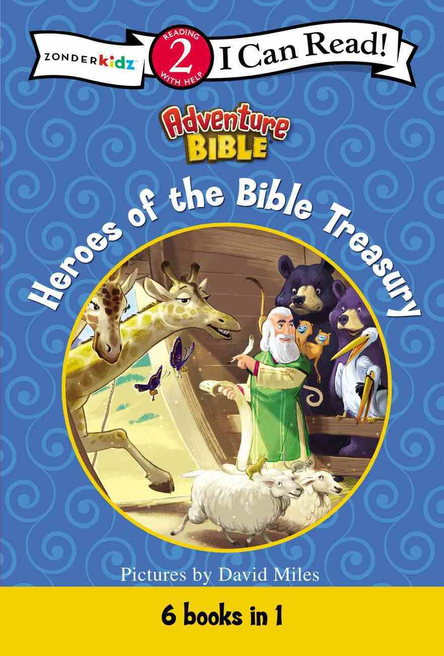 Heroes of the Bible Treasury (I Can Read!2/adventure Bible Series) Hardback