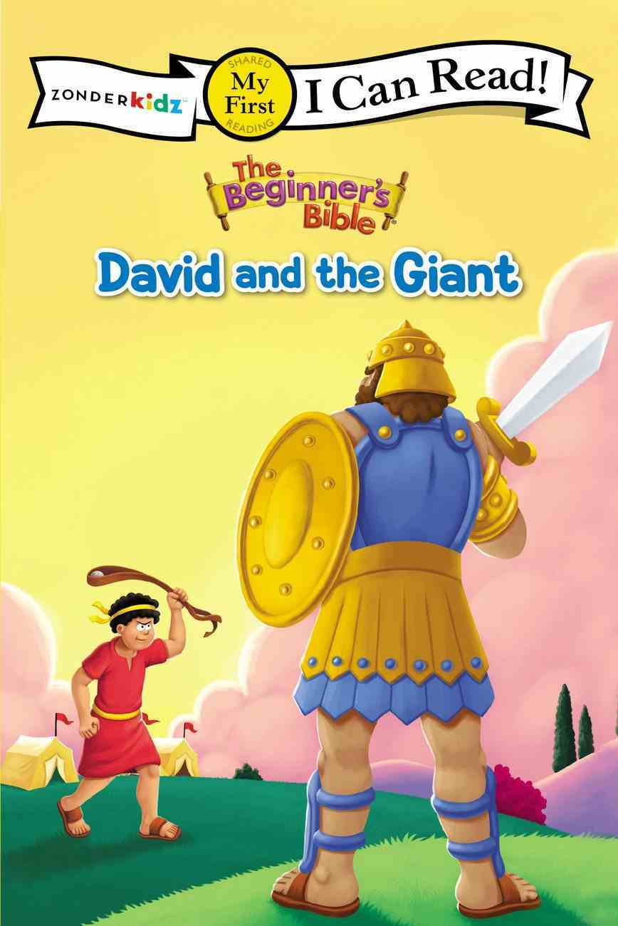 David and the Giant (My First I Can Read/beginners Bible Series) Paperback