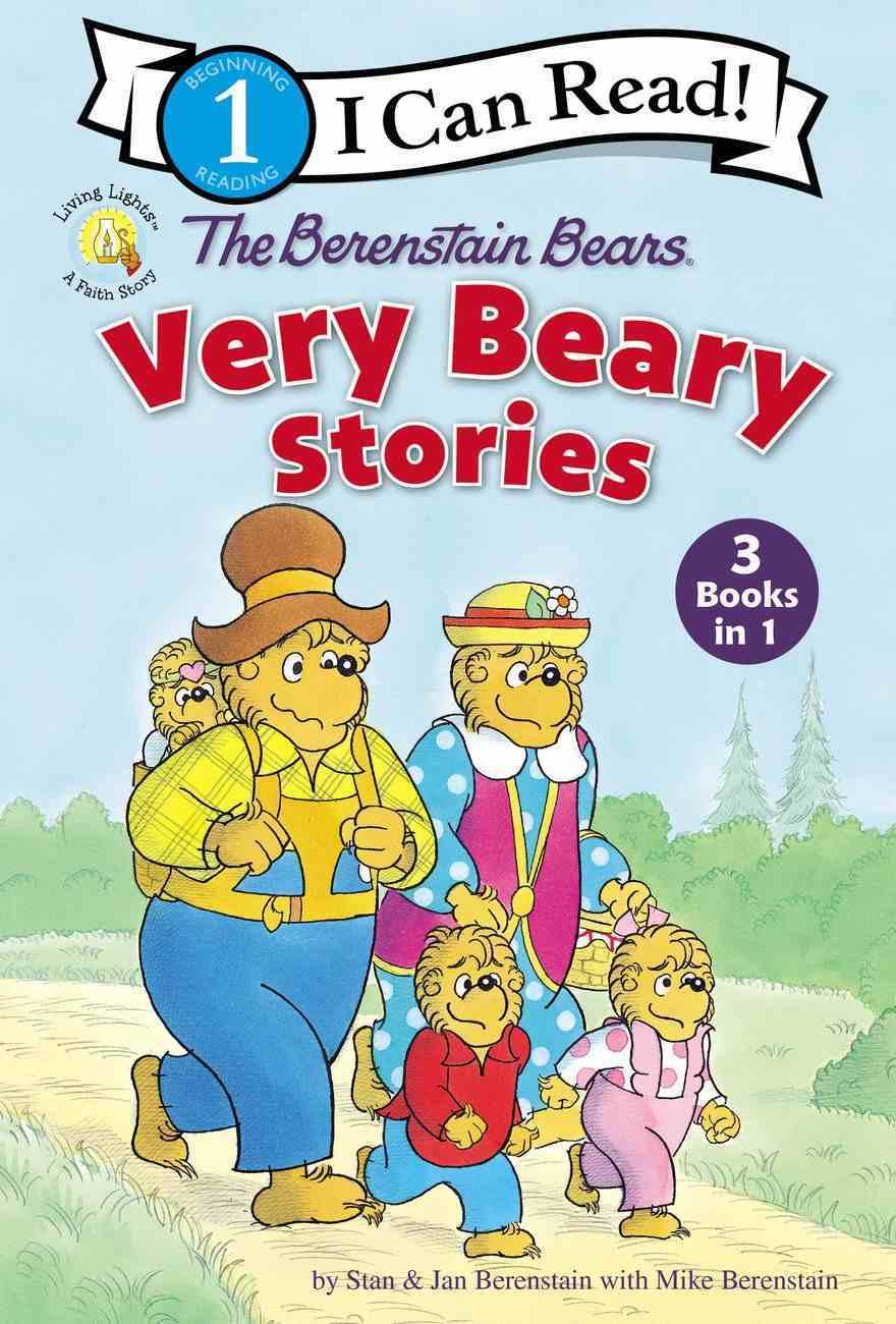 The Berenstain Bears Very Beary Stories (3 Books in 1) (I Can Read!1/berenstain Bears Series) Hardback