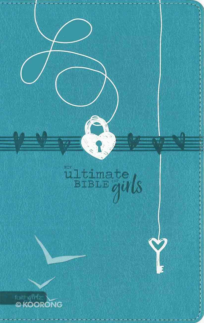 NIV Ultimate Bible For Girls Teal Premium Imitation Leather