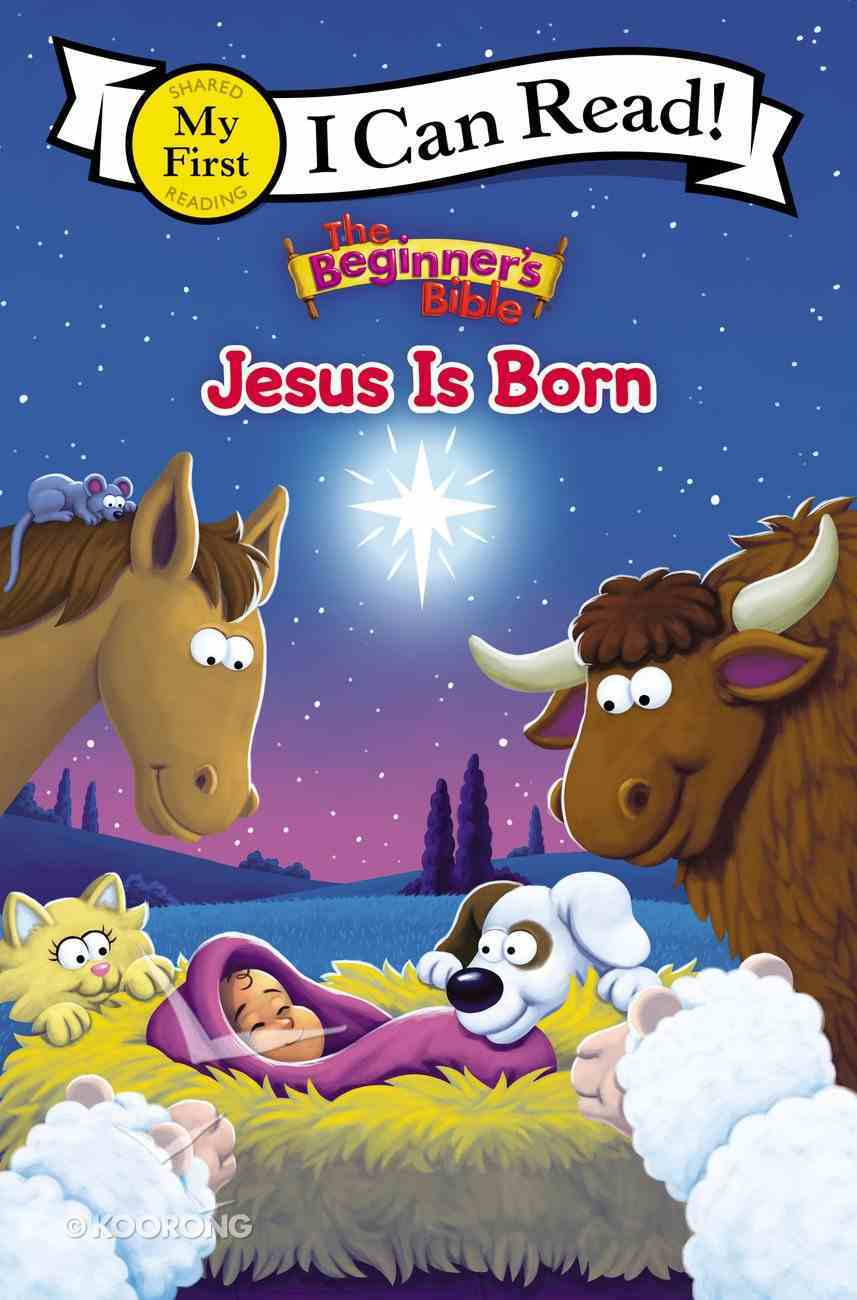 Jesus is Born (My First I Can Read/beginners Bible Series) Hardback
