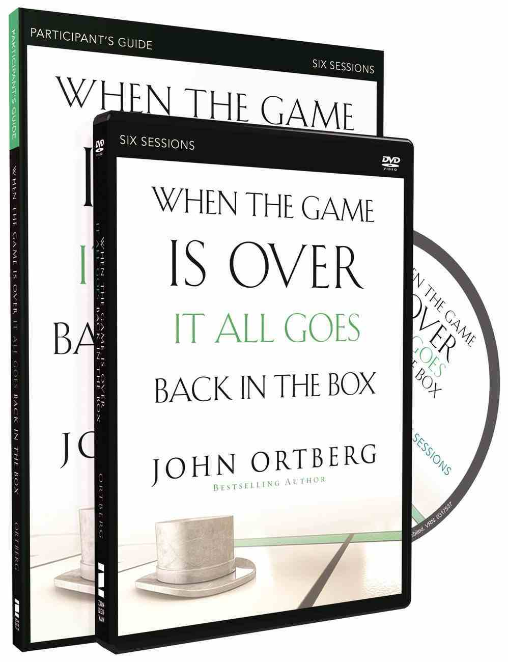 When the Game is Over It All Goes Back in the Box (Participant's Guide With Dvd) Pack