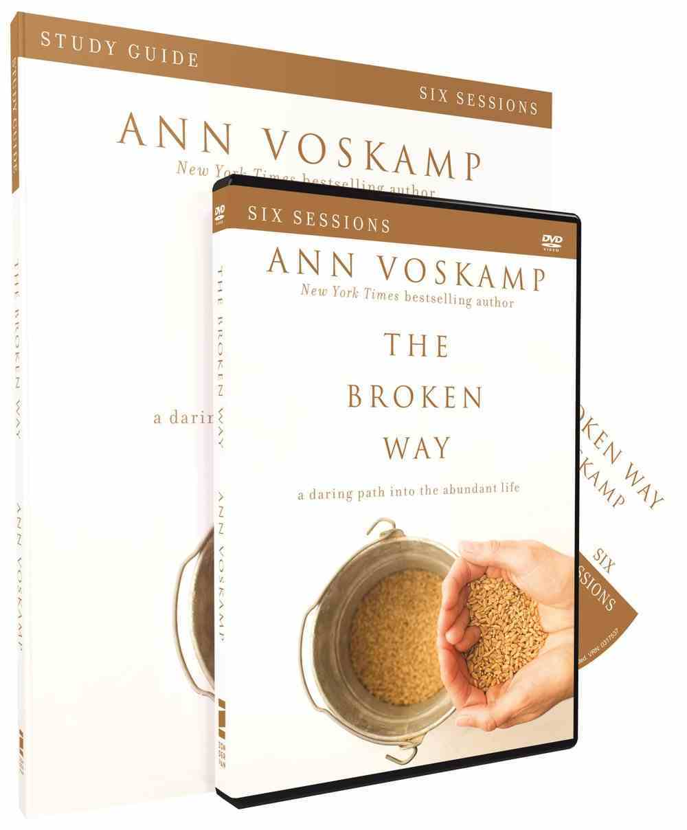 The Broken Way (Study Guide With Dvd) Pack