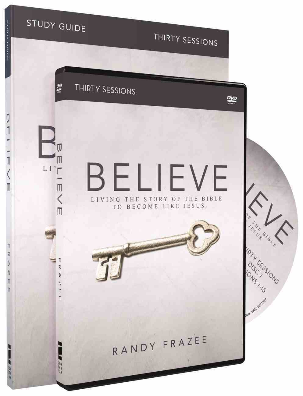 Believe (Study Guide With DVD) (Believe (Zondervan) Series) Pack