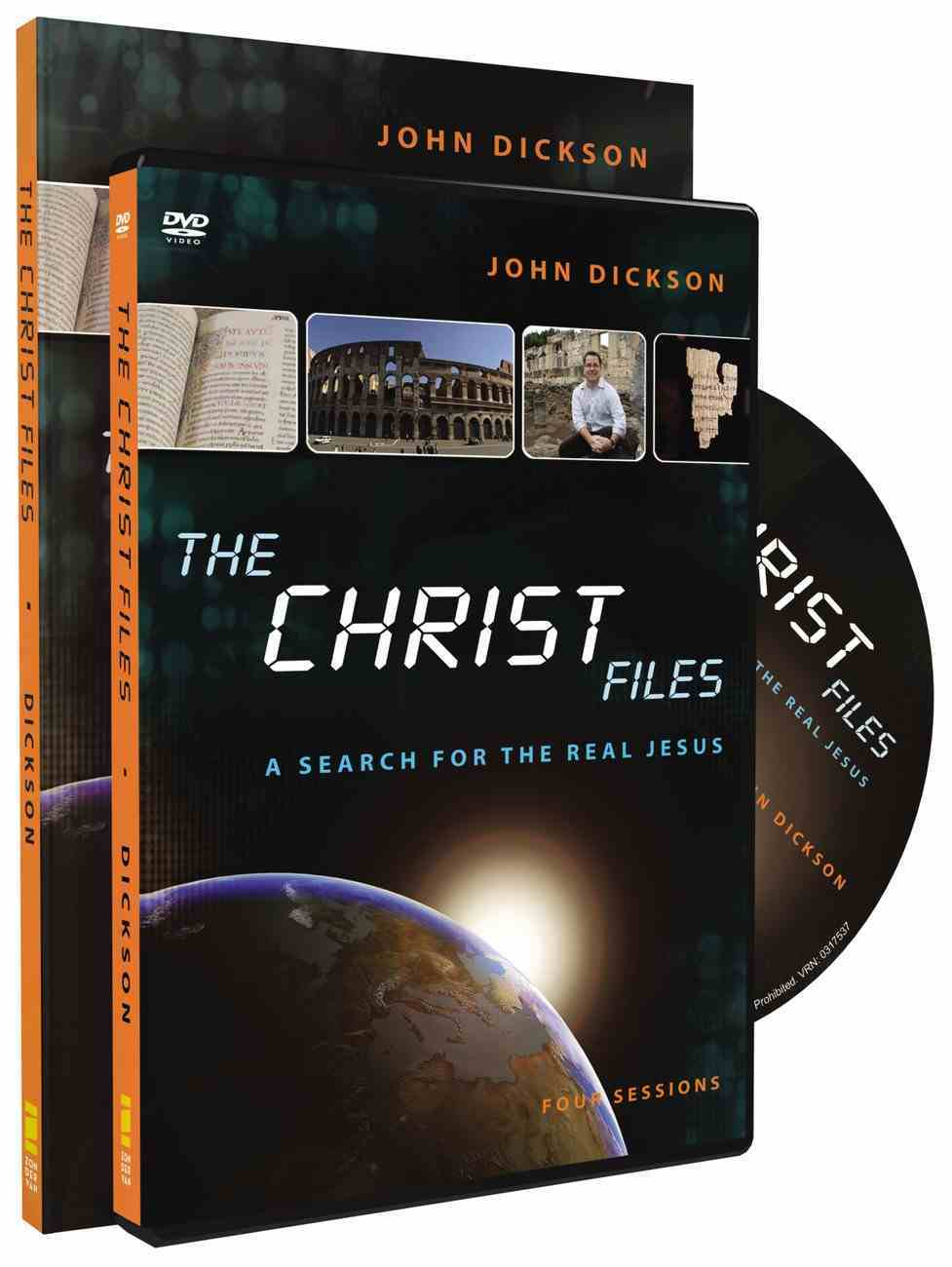 Christ Files Pack (Participant's Guide/dvd) Pack