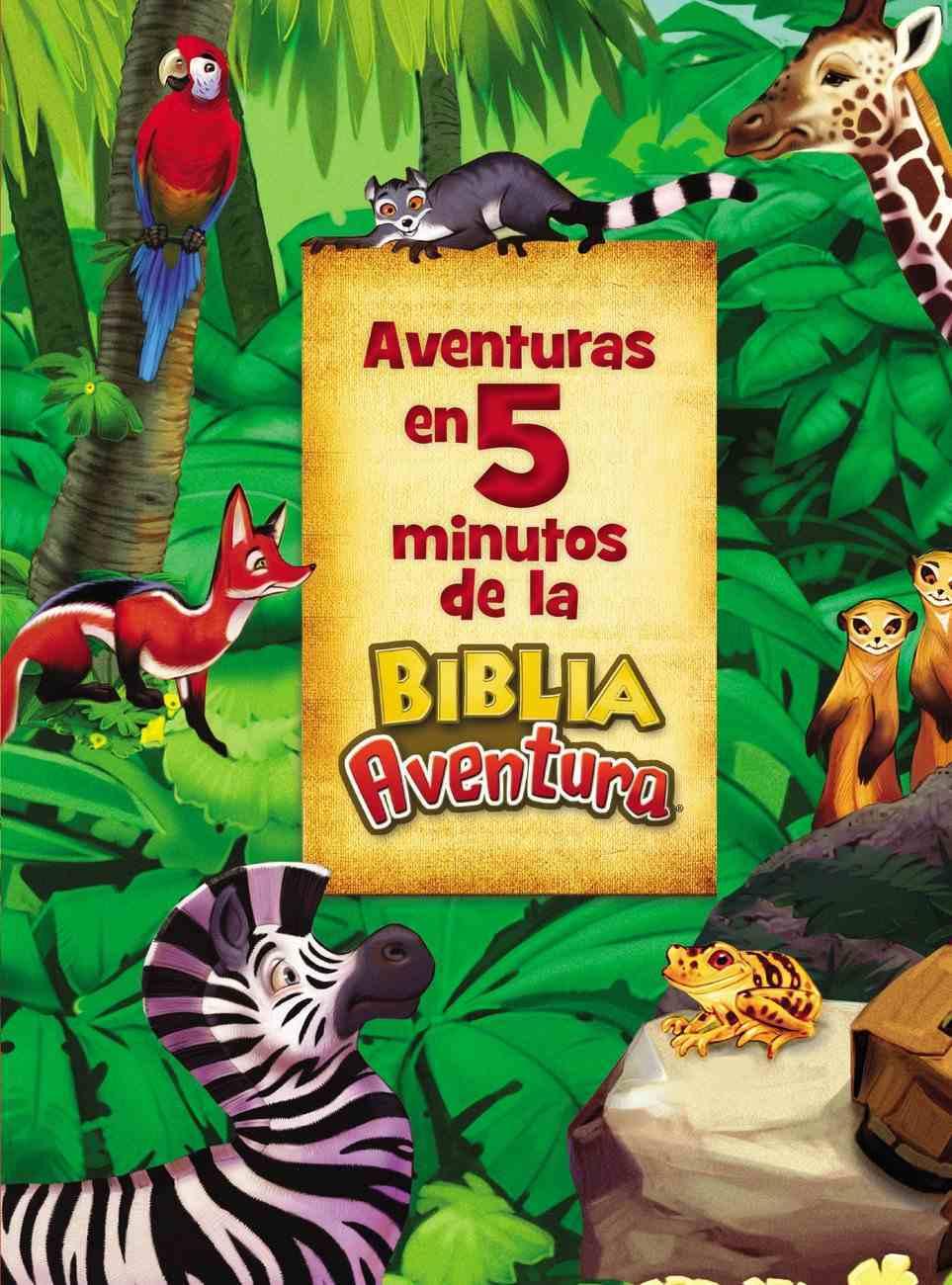 Adventuras En 5 Minutos De La Biblia Adventura Hardback