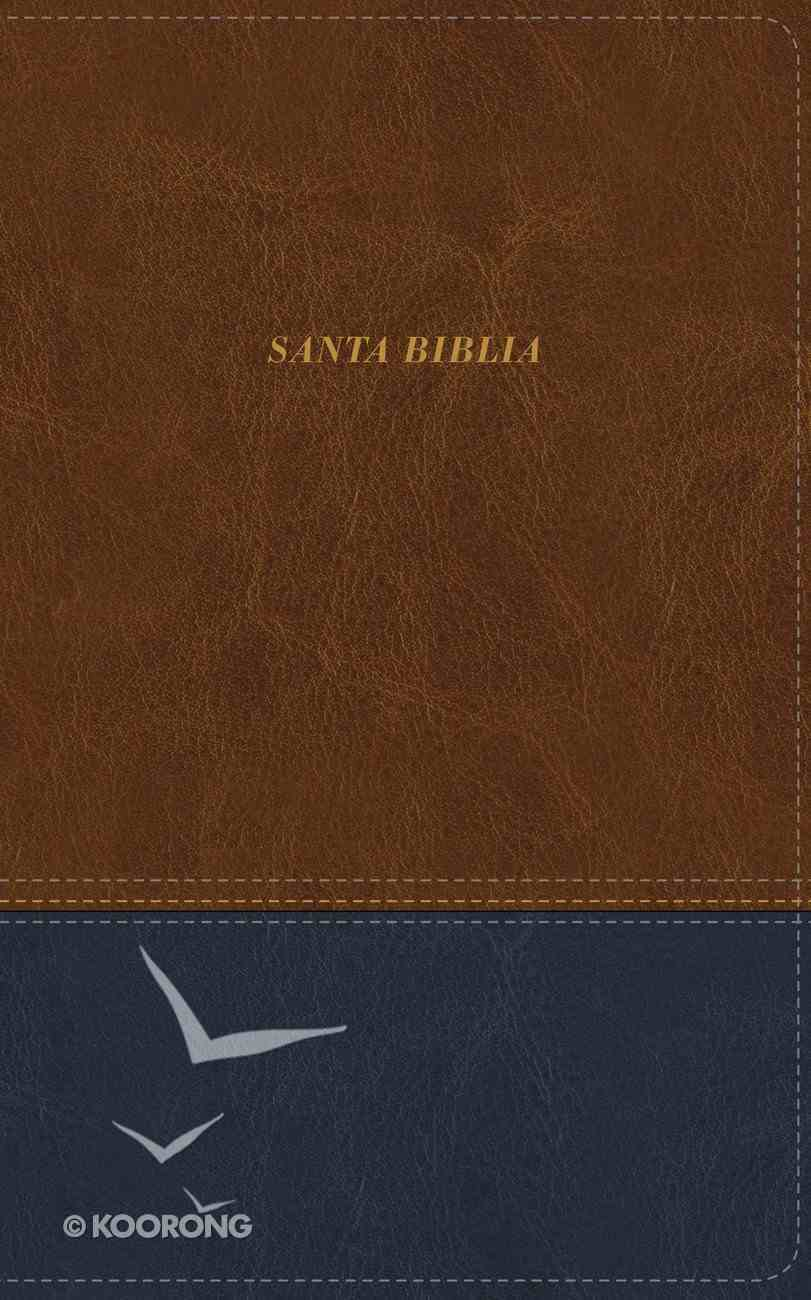 Lbla Santa Biblia Ultrafina Cafe (Red Letter Edition) Premium Imitation Leather
