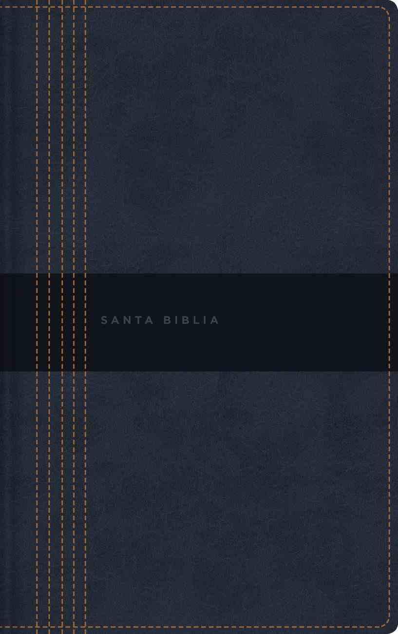 Nbla Santa Biblia Ultrafina Letra Grande Negro Contemporanea (Red Letter Edition) Premium Imitation Leather