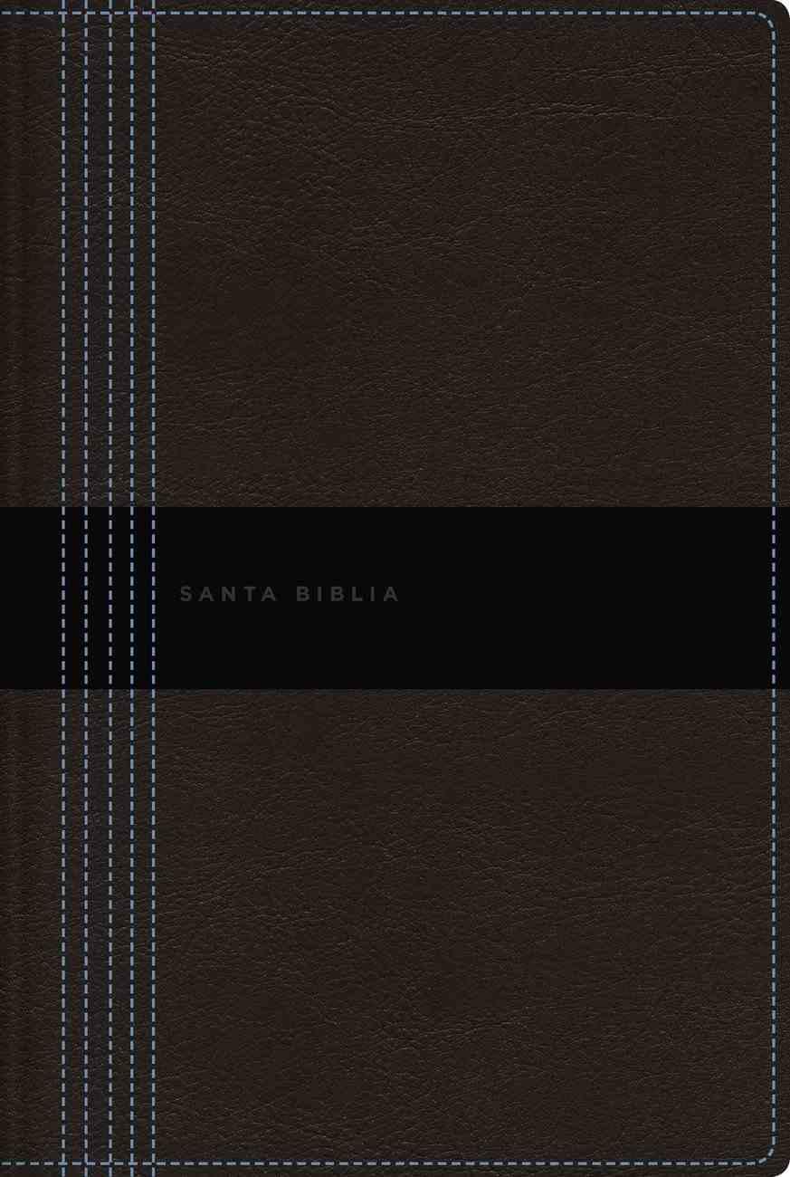 Nbla Santa Biblia Ultrafina Letra Gigante Conteporanea (Red Letter Edition) Premium Imitation Leather