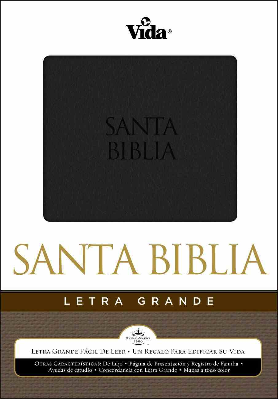 Rvr 1960 Biblia Letra Grande Large Print Spanish Bible (Red Letter Edition) Premium Imitation Leather