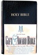 KJV Gift Award Bible Black (Red Letter Edition) Imitation Leather
