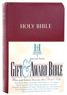KJV Gift Award Bible Burgundy Imitation Leather