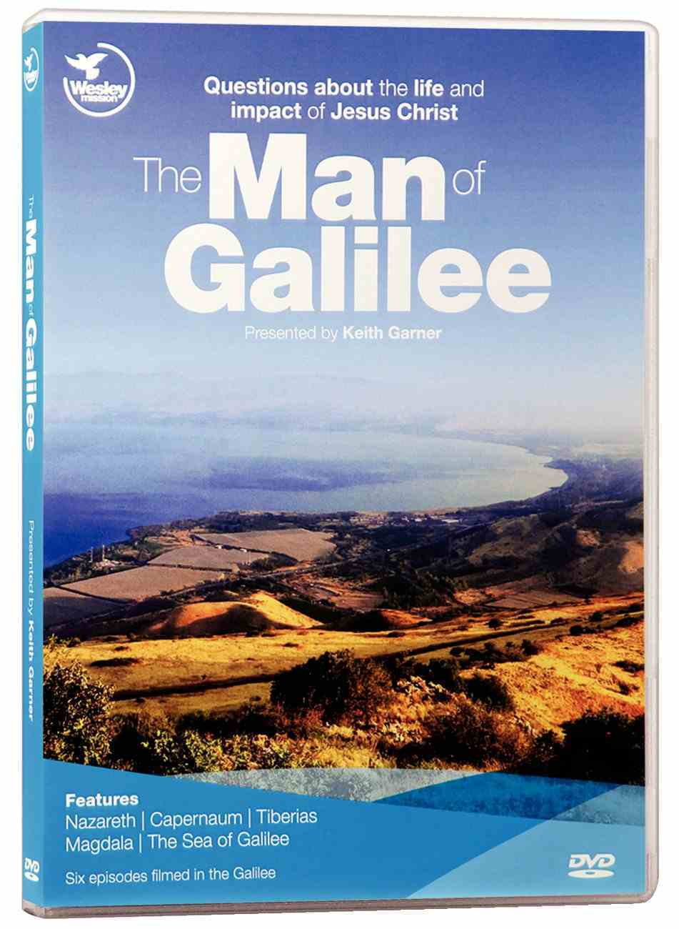 The Man of Galilee: Questions About the Life and Impact of Jesus Christ DVD