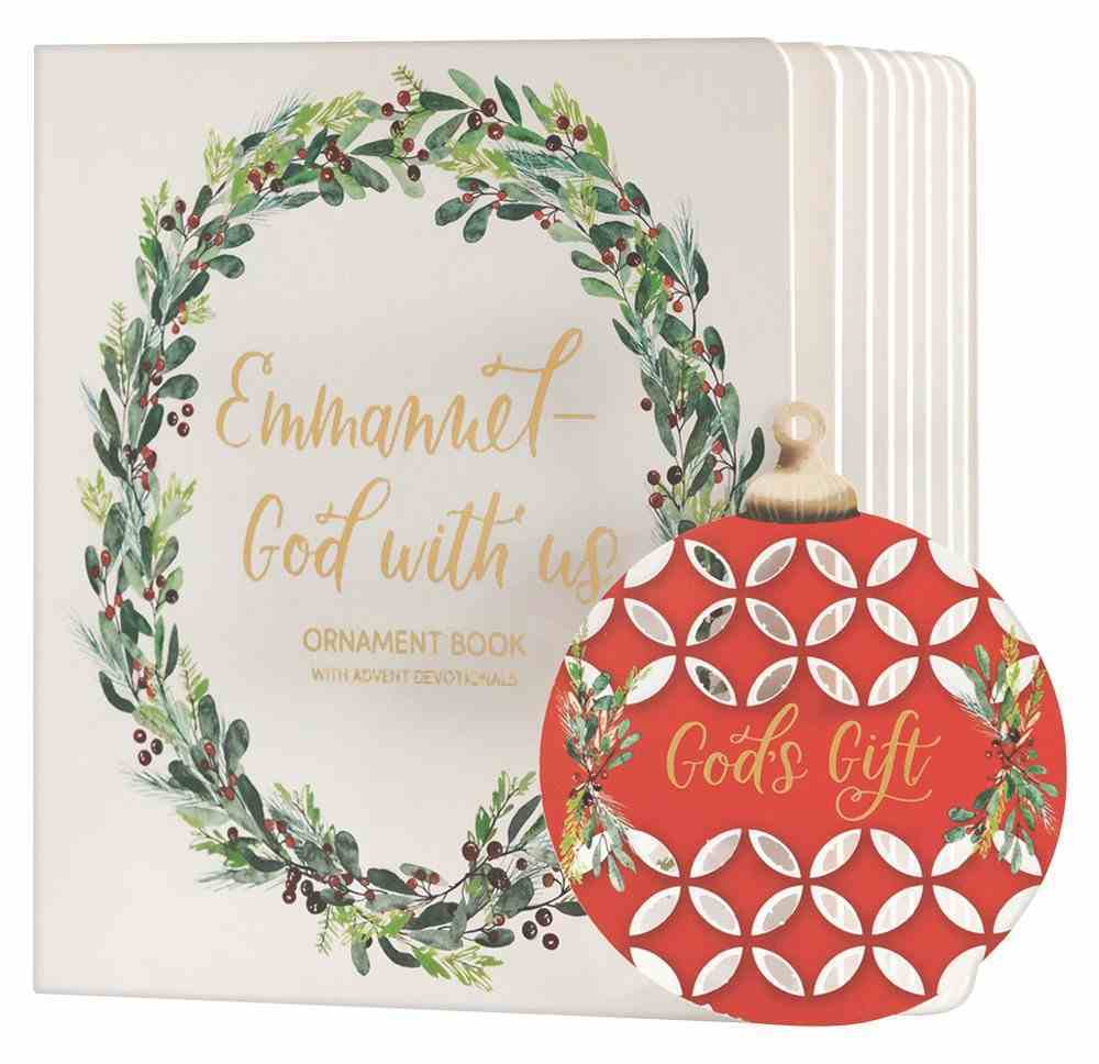 God With Us Advent Ornament Book Board Book