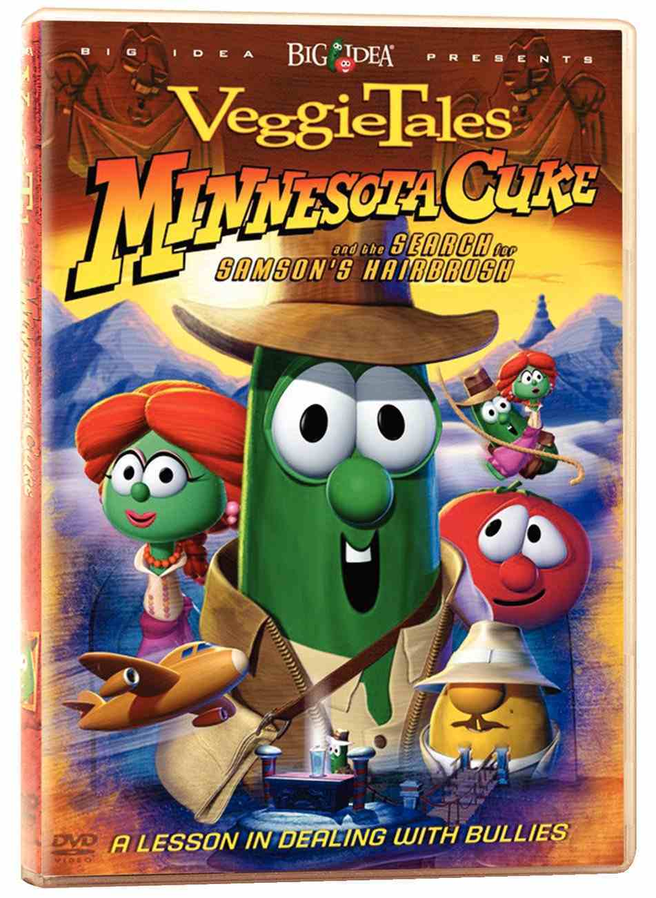 Veggie Tales #24: Minnesota Cuke & the Search For Samson's Hairbrush (#024 in Veggie Tales Visual Series (Veggietales)) DVD