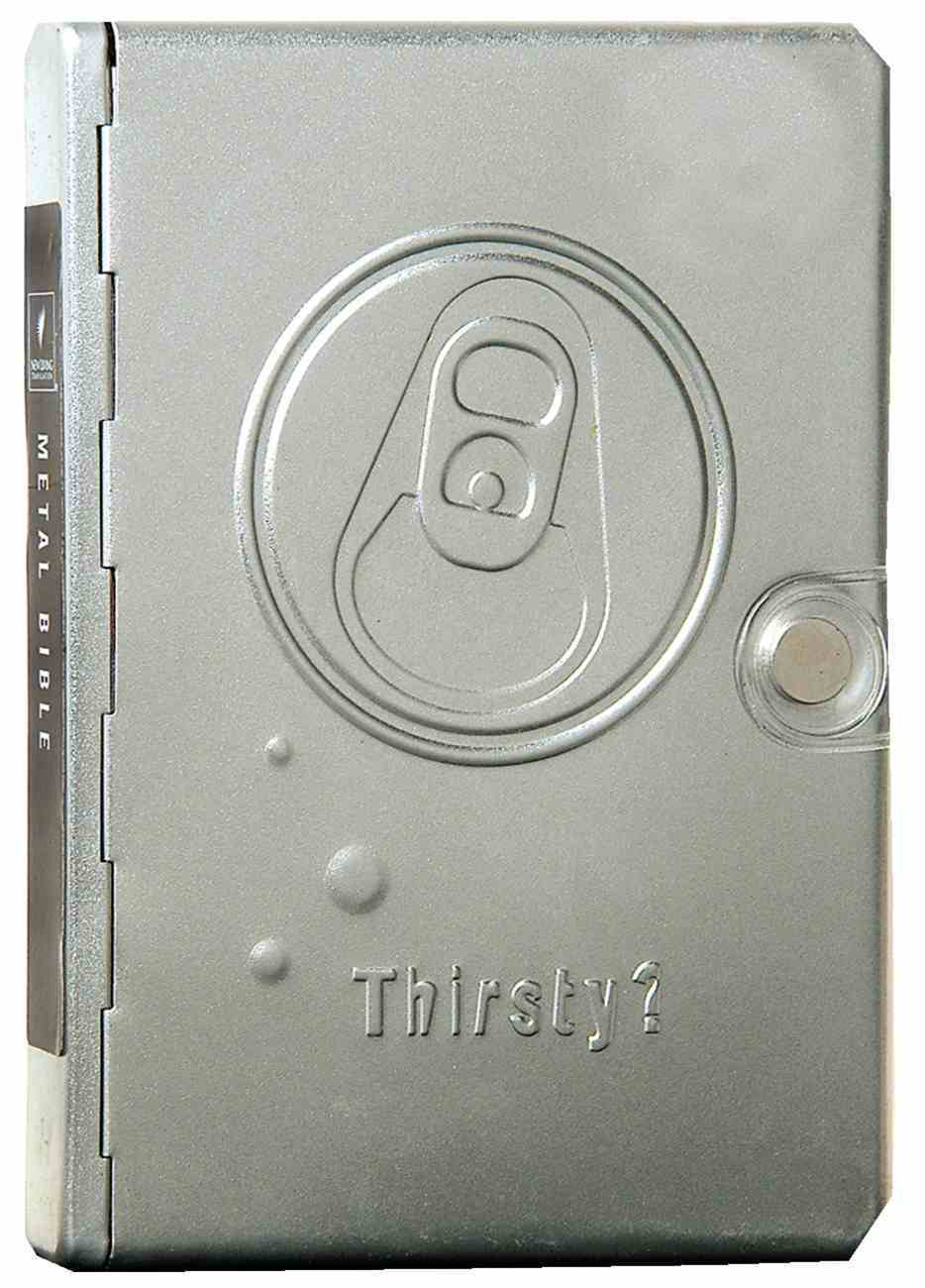 NLT Metal Bible Silver Thirsty (Black Letter Edition) (1st Ed.) Metal