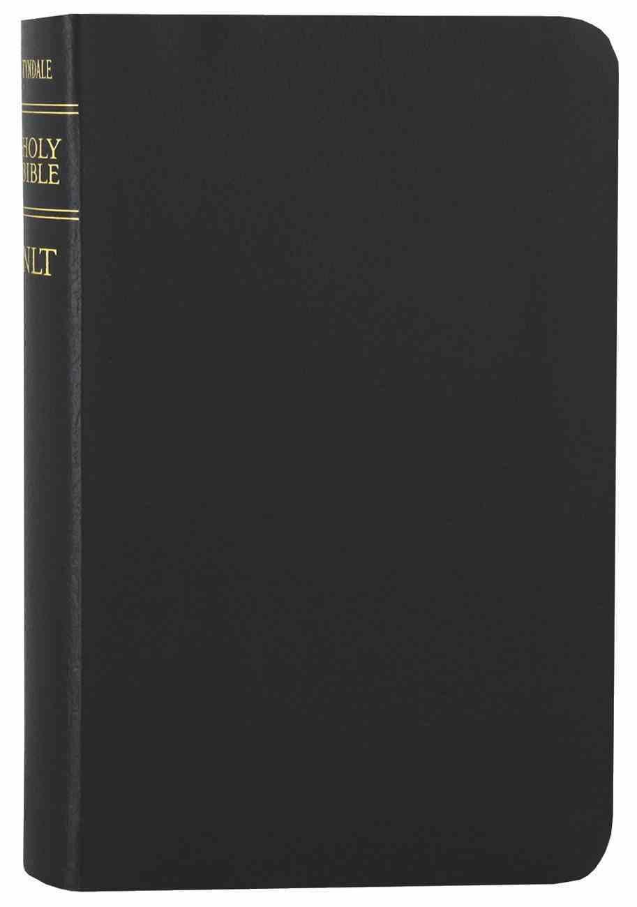 NLT Compact Gift Bible Black (Black Letter Edition) Bonded Leather