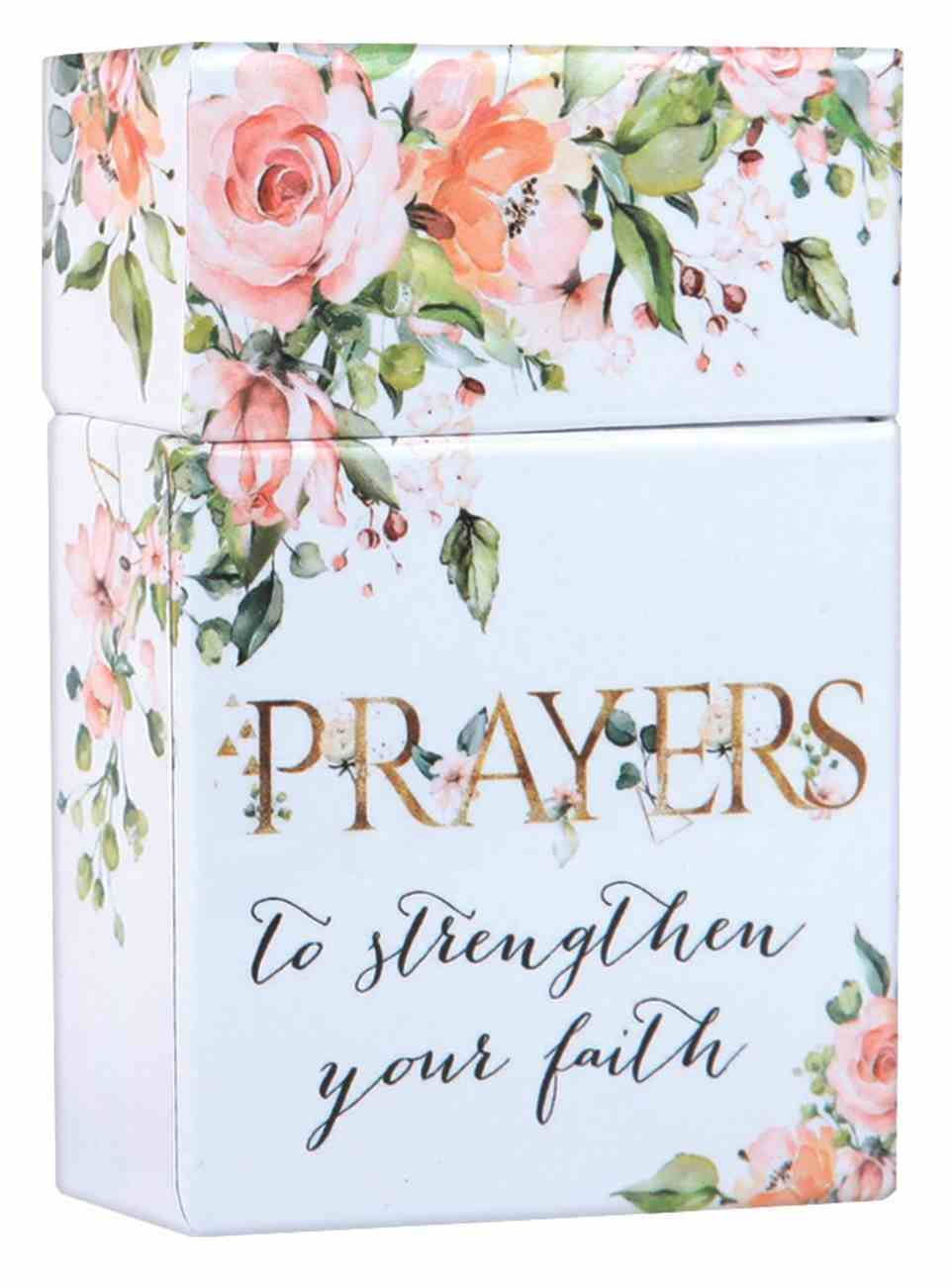 Boxes of Blessings: Prayers to Strengthen Your Faith (Prayer & Praise Collection) Box